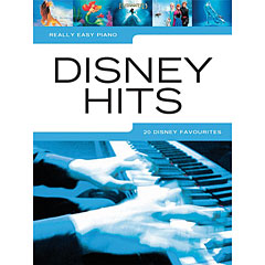 Music Sales Really Easy Piano - Disney Hits - 20 Disney Favourites « Recueil de Partitions