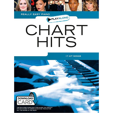 Music Sales Really Easy Piano - Chart Hits - 17 Hit Songs