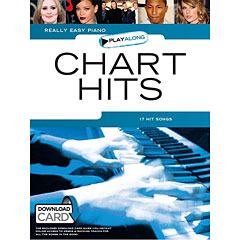 Music Sales Really Easy Piano - Chart Hits - 17 Hit Songs « Libro de partituras