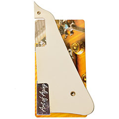 Crazyparts Area 59 Pickguard Vintage Bone Burst Cut « Golpeador