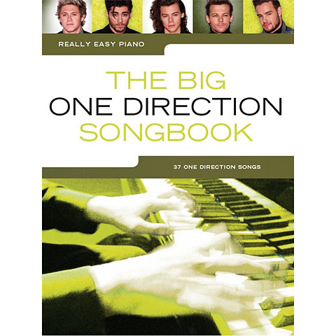 Music Sales Really Easy Piano - The Big One Direction Songbook