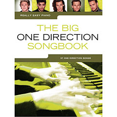 Music Sales Really Easy Piano - The Big One Direction Songbook - 37 One Direction Songs « Music Notes