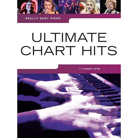 Notenbuch Music Sales Really Easy Piano - Ultimate Chart Hits - 17 Chart Hits