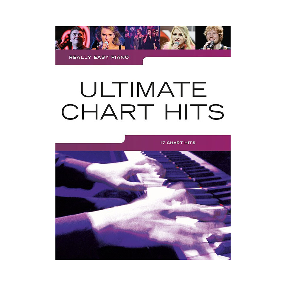 Music Chart   Music Sales Really Easy Piano Ultimate Chart Hits Notenbuch