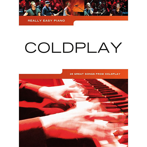 Libro de partituras Music Sales Really Easy Piano - Coldplay - 28 Great Songs from Coldplay