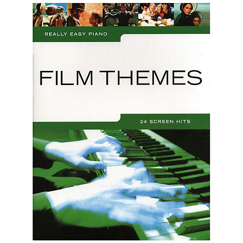Music Sales Really Easy Piano - Film Themes - 24 Screen Hits
