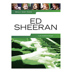 Music Sales Really Easy Piano - Ed Sheeran - 18 Ed Sheeran Songs « Recueil de Partitions