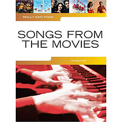 Music Sales Really Easy Piano - Songs From The Movies - 16 Film Hits « Recueil de Partitions