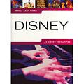 Recueil de Partitions Music Sales Really Easy Piano - Disney