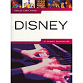 Libro de partituras Music Sales Really Easy Piano - Disney