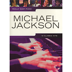 Music Sales Really Easy Piano - Michael Jackson - 19 Classic Hits « Recueil de Partitions