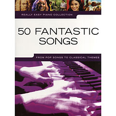 Music Sales Really Easy Piano Collection - 50 Fantastic Songs - From Pop Songs to Classical Themes « Recueil de Partitions