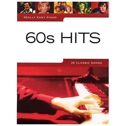 Libro de partituras Music Sales Really Easy Piano - 60s Hits - 25 Classic Songs