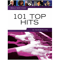Music Sales Really Easy Piano - 101 Top Hits « Notenbuch
