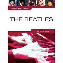 Music Sales Really Easy Piano - The Beatles - 23 Great Hits « Libro de partituras