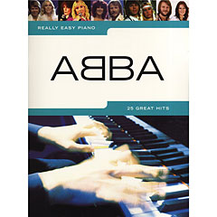 Music Sales Really Easy Piano - ABBA - 25 Great Hits « Libro de partituras
