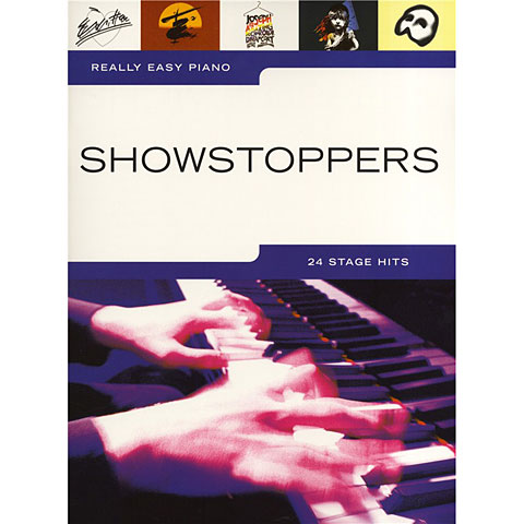 Music Sales Really Easy Piano - Showstoppers - 24 Stage Hits