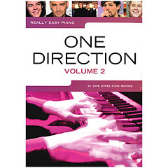 Music Sales Really Easy Piano - One Direction Vol. 2 « Music Notes