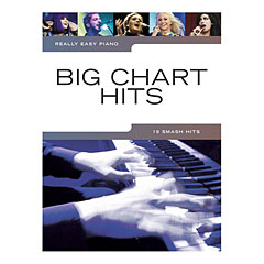Music Sales Really Easy Piano - Big Chart Hits - 19 Smash Hits « Libro de partituras