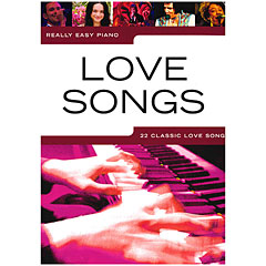 Music Sales Really Easy Piano - Love Songs