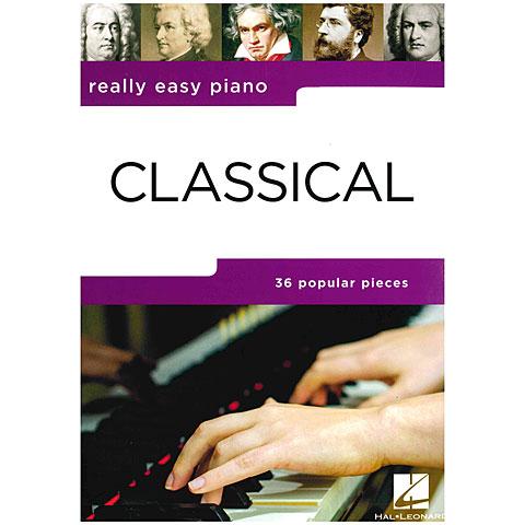 Libro de partituras Music Sales Really Easy Piano - Classical
