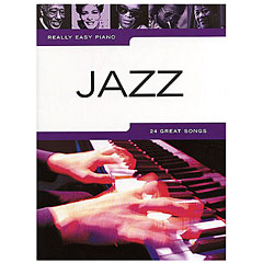 Music Sales Really Easy Piano - Jazz - 24 Great Songs « Bladmuziek