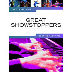 Music Sales Really Easy Piano - Great Showstoppers - 20 Stage Favourites « Recueil de Partitions