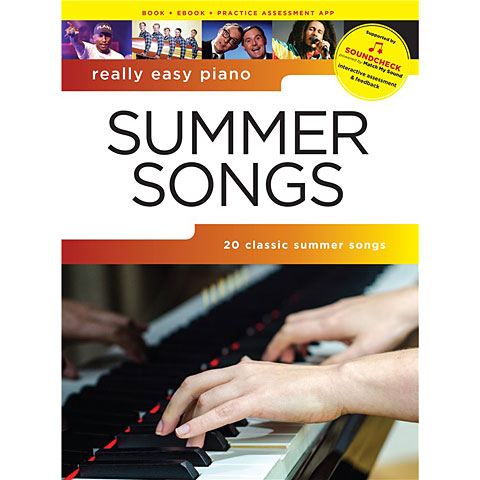Music Sales Really Easy Piano - Summer Songs