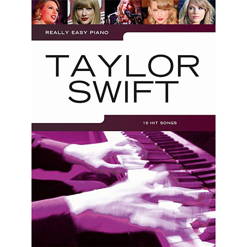 Notenbuch Music Sales Really Easy Piano - Taylor Swift - 18 Hit Songs