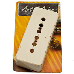 Crazyparts Art of Aging Pickupkappe Bone White « Cubierta para pastilla