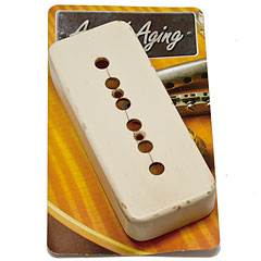Crazyparts Art of Aging Pickupkappe Bone White, Vintage Shape « Capots de micro