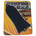 Truss Rod Cover Crazyparts Art of Aging Trussrodcover, Bell Shape, Black