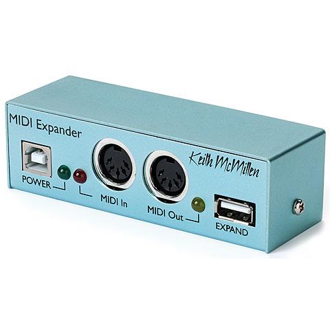 Controlador MIDI Keith McMillen Midi Expander