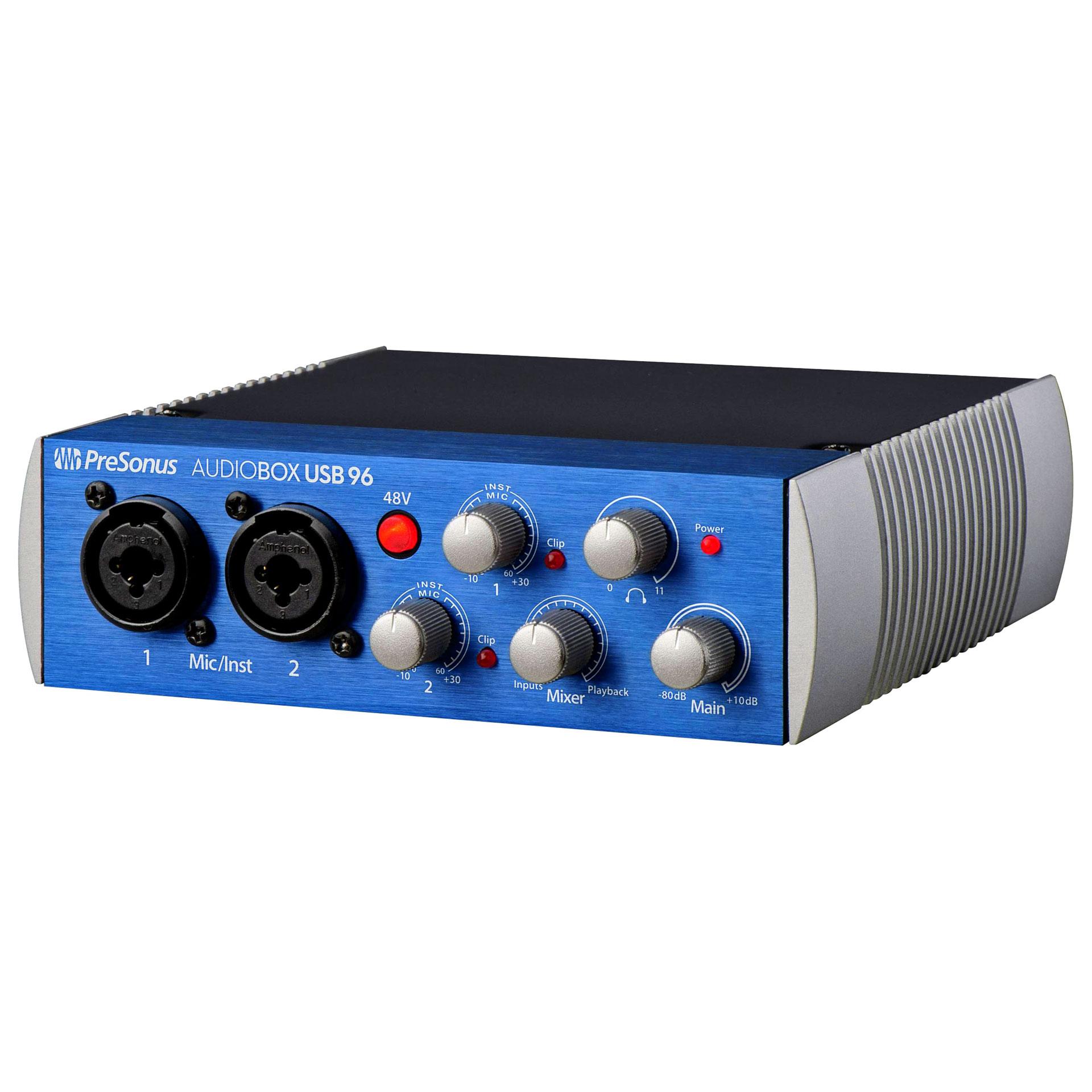presonus audiobox usb 96 audio interface. Black Bedroom Furniture Sets. Home Design Ideas