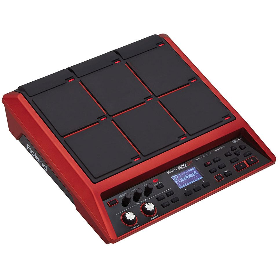 roland spd sx special edition sampling pad percussion pad