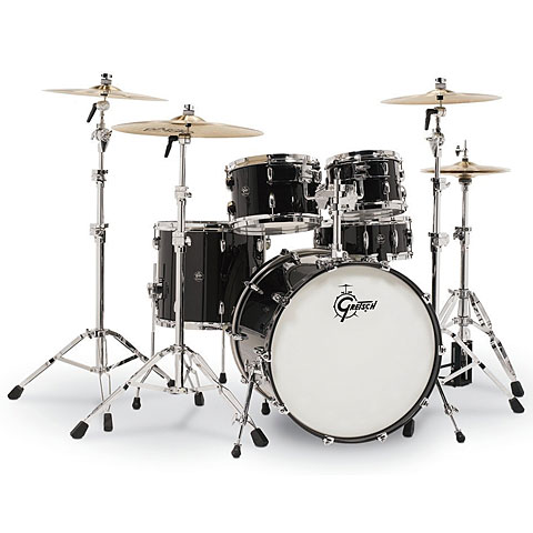"Batterie acoustique Gretsch Drums Renown Maple 22"" Piano Black"