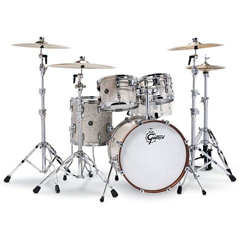 Gretsch Drums Renown Maple Silver 20  Vintage Pearl