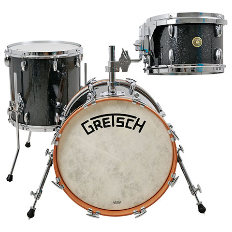 "Gretsch Drums USA Broadkaster 18"" Black Glass"