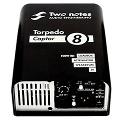 Two Notes Torpedo Captor 8 Ohm « Tool de grabación