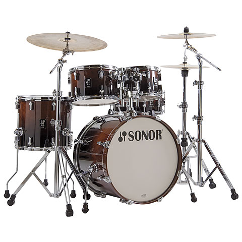 Sonor AQ2 20  Brown Fade Studio Drumset