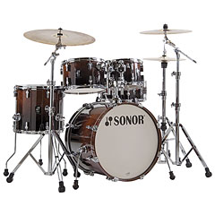 Sonor AQ2 20'' Brown Fade Studio Drumset « Batterie acoustique