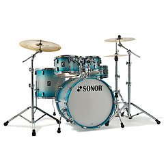 "Sonor AQ2 20"" Aqua Silver Burst Studio Drumset « Drum Kit"
