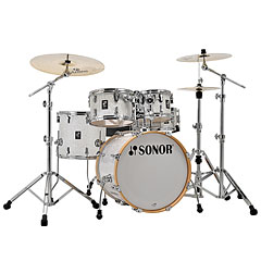 "Sonor AQ2 20"" White Pearl Studio Drumset « Drum Kit"