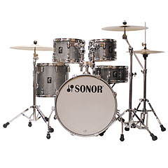 "Sonor AQ2 20"" Titanium Quartz Studio Drumset « Drum Kit"