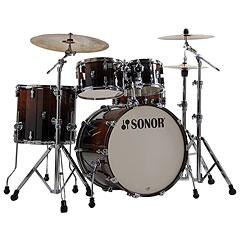 "Sonor AQ2 22"" Brown Fade Stage Drumset"