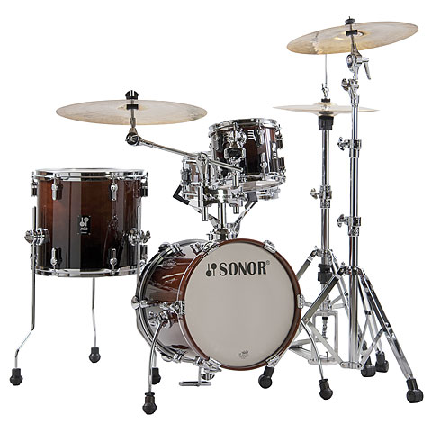 "Sonor AQ2 14"" Brown Fade Martini Drumset"