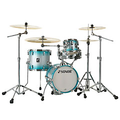 "Sonor AQ2 14"" Aqua Silver Burst Martini Drumset « Drum Kit"