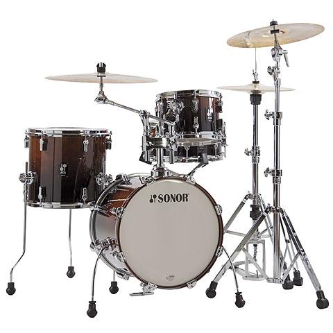 """Sonor AQ2 16"""" Brown Fade Safari Drumset"""