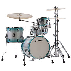 "Sonor AQ2 16"" Aqua Silver Burst Safari Drumset « Drum Kit"