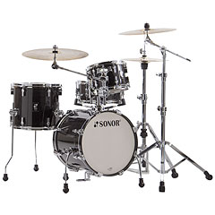 "Sonor AQ2 16"" Transparent Black Safari Drumset « Drum Kit"